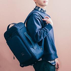 [에이지그레이]AGEDGRAY - NEW AG07NY(navy) 백팩 가방 비즈니스 backpack