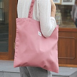 [버빌리안]BASIC ECO BAG (PINK) 베이직 에코백 핑크_가방 무지에코백