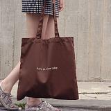 [버빌리안]BASIC ECO BAG (CHOCO BROWN) 베이직 에코백 초코브라운_가방 에코백 무지에코백