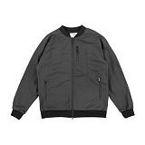 [크룩스앤캐슬]CROOKS & CASTLES Woven Baseball Jacket - Sureno (Black) 스타디움자켓 스타장 야구점퍼 야구잠바