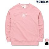 [크루클린] CROOKLYN ONLY 맨투맨 MRL422 티셔츠 크루넥 스��셔츠