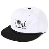 [앱놀머씽] New City Baseball Cap (White/Black) 볼캡 야구모자 모자 캡모자