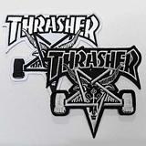 [트래셔]THRASHER SKATE GOAT PATCH (BLACK / WHITE) 악세서리 패치