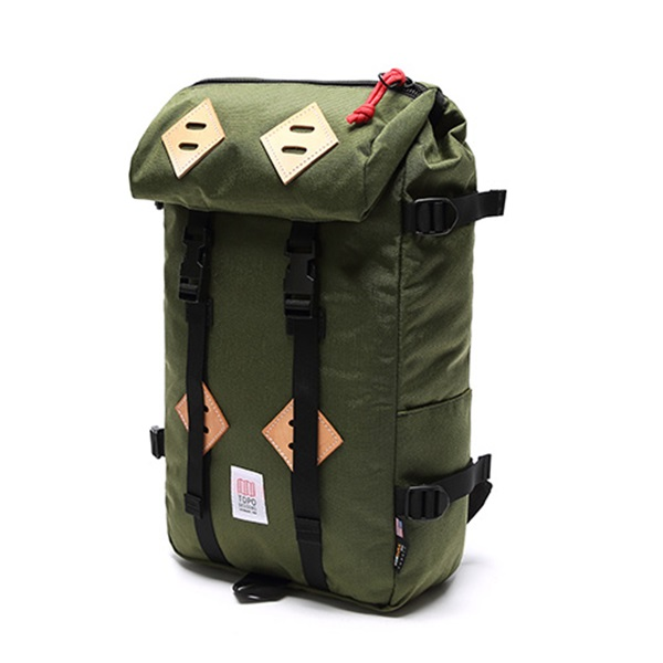 [토포디자인]TOPO DESIGNS - KLETTERSACK 22L TDKS013 (OLIVE) Made in USA 백팩