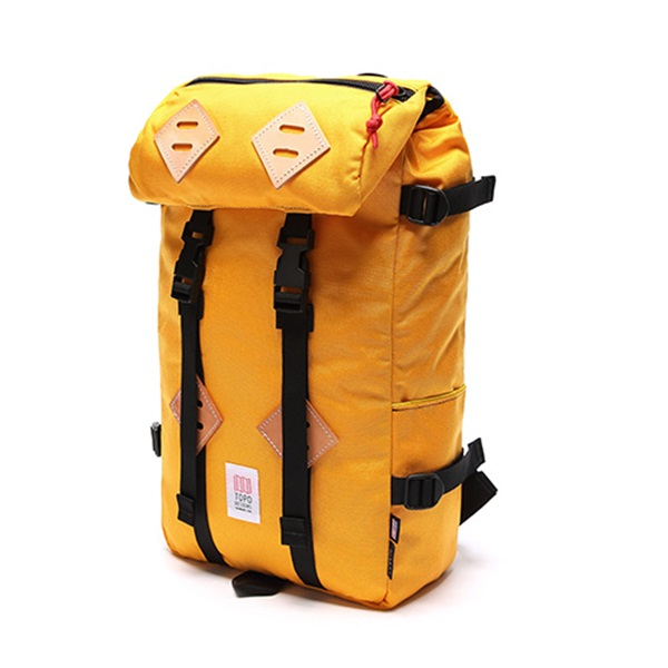 [토포디자인]TOPO DESIGNS - KLETTERSACK 22L TDKS013 (SAFFRON) Made in USA 백팩