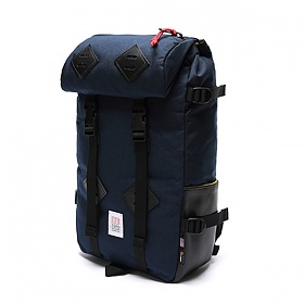 [토포디자인]TOPO DESIGNS - KLETTERSACK 22L TDKS013 (NAVY/BLACK LEATHER) Made in USA 백팩