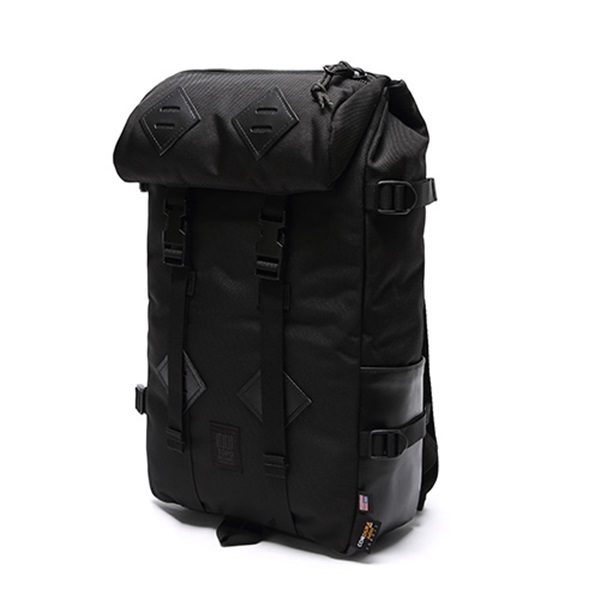 [토포디자인]TOPO DESIGNS - KLETTERSACK 22L TDKS013 (BALLISTIC/BLACK LEATHER) Made in USA 백팩