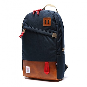 [토포디자인]TOPO DESIGNS - DAYPACK TDDP014 (NAVY/BROWN LEATHER) Made in USA 백팩
