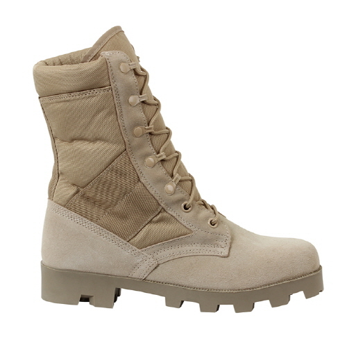 [로스코]ROTHCO - G.I TYPE SPEEDLACE DESERT TAN JUNGLE BOOT 데져트부츠 정글부츠 사막화
