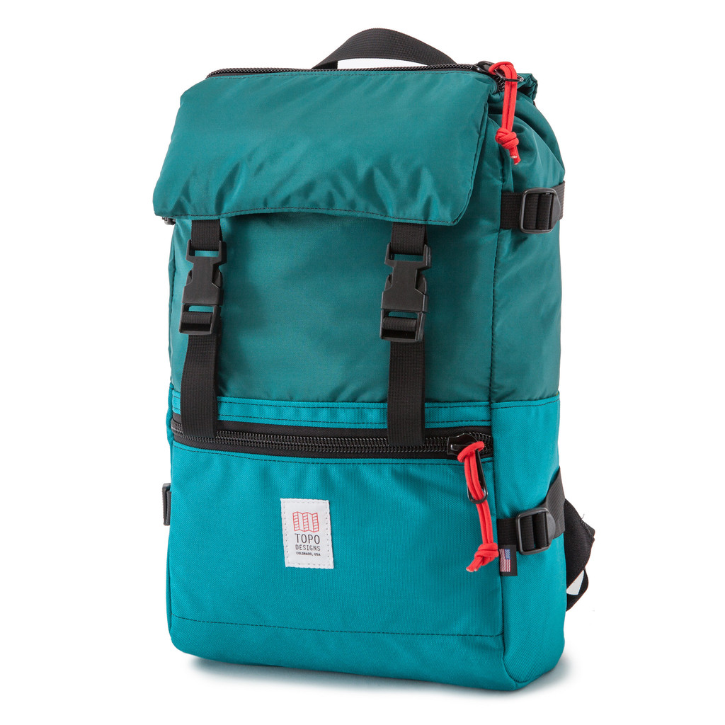[토포디자인]TOPO DESIGNS - ROVER PACK TDRP013 (TURQUOISE) Made in USA 백팩
