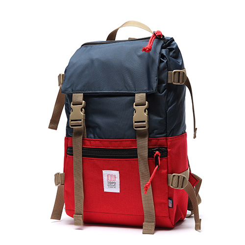 [토포디자인]TOPO DESIGNS - ROVER PACK TDRP013 (RED/NAVY) Made in USA 백팩