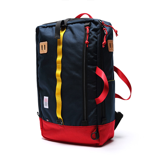 [토포디자인]TOPO DESIGNS - TRAVEL BAG TDTB014 (NAVY/RED) Made in USA 백팩
