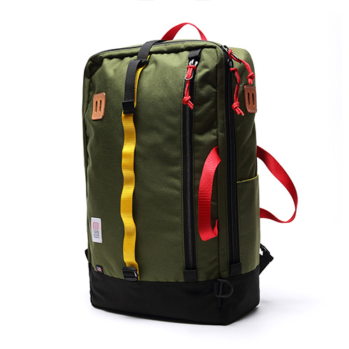 [토포디자인]TOPO DESIGNS - TRAVEL BAG TDTB014 (OLIVE/BLACK) Made in USA 백팩