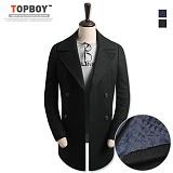 탑보이 - 이중포켓 더블 브레스트 코트 (JW 279) 코트 coat 남자코트