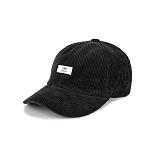 [티엔피]TNP - WH LABEL CORDUROY BALL CAP - BLACK 야구모자 볼캡 코듀로이