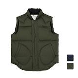 [언리미트]Unlimit - Alive Down Vest (AE-D045) 조끼 패딩조끼 패딩베스트 덕다운