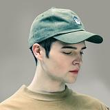 [스나웃] SNOUT GHOST MONSTER WASHED CAP_KAHKI 야구모자 볼캡 패널캡 워시드캡 모자