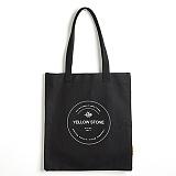 [옐로우스톤] 캔버스 에코백 -YS2025BS 블랙 가방 숄더백 CANVAS ECO BAG