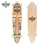 40 PRIMO HONEY CREEPER ZEBRA BAMBOO LONGBOARD