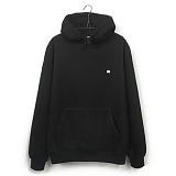 [지미코브리코] jimiko crown hoodie w black 기모 후드티