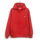 [지미코브리코] jimiko crown hoodie w red 기모 후드티