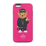 STIGMA - PHONE CASE COMPTON BEAR PINK iPHONE6S/6S+/7/7+_케이스_아이폰