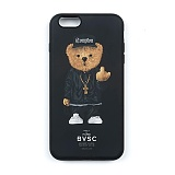 STIGMA - PHONE CASE COMPTON BEAR BLACK iPHONE6S/6S+/7/7+_케이스_아이폰