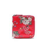 [캐스키드슨]Cathkidston- Square Zip Wallet (Red) 513388