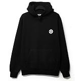 [코싸] koxa symbol b hoodie fw black 기모 후드티