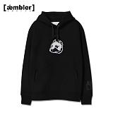 [엠블러]AMBLER 특양/기모 후드티 AHP109-블랙 후디