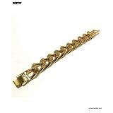 SEXTO - [swarovski]sn-Chain bracelet (gold)