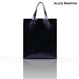 [앨리스마샤]ALICE MARTHA - 칸나(Canna) Black_토트백_크로스백