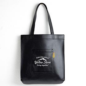 [옐로우스톤] PREMIUM LEATHER ECOBAG -YS2038BP /BALCK  가죽 레더 에코백 가방