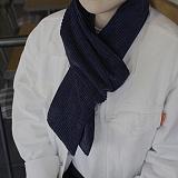 [씨엑스엑스]CXX - CODUROY(thick) stall & muffler - Navy 코듀로이 머플러