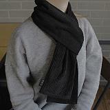 [씨엑스엑스]CXX - CODUROY(thick) stall & muffler - Black 코듀로이 머플러