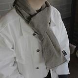 [씨엑스엑스]CXX - CODUROY stall & muffler - Beige gray 코듀로이 머플러