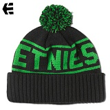 [Etnies] STEPFORD BEANIE (Black/Green)