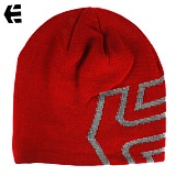 [Etnies] ICON OUTLINE BEANIE (Red/Grey)