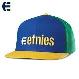 [에트니스] ETNIES - CORPORATE 5 SNAPBACK HAT(Blue/Yellow) 스냅백