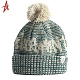 [Altamont] VESSEL POM BEANIE (Green/Heather)