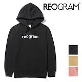 [리오그램] REOGRAM  [기모] HOOD PUFF SWEATSHIRTS (Black)후드 퍼프 스��셔츠 맨투맨