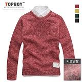 탑보이 - 플루어 보카시 라운드 니트 (NS 233) 니트 knit