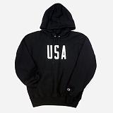 [챔피온]CHAMPION -REVERSE WEAVE HOODED PULLOVER (USA)BK 후드티셔츠 정품 국내배송