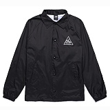 [오베이]OBEY - COACH S JACKETS NEXT ROUND 2 125001005 (BLACK) 코치자켓