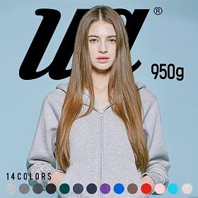 [유니어패럴] UNIAPPAREL 베이직 기모 후드집업 14 Colors