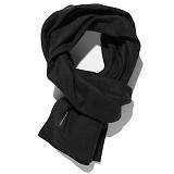 [비스폰지]beasponge - Bspg Solid Wool Muffler - BLACK 솔리드 울 머플러