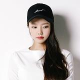 [스턴트]STUNT Dash Logo Cap (Black) 로고 캡 볼캡 야구모자