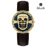 [Gluck] 글륵 행운의 슬림 수공예 시계 GL1504M-HMGW 본사정품