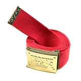 [크룩스앤캐슬]CROOKS & CASTLES Belt - Crooks Beginners (True Red) 벨트