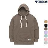 [크루클린] CROOKLYN 오버핏 기모 후드 티셔츠 HRL601 기모후드티 후디